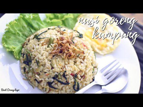 Resepi Nasi Goreng Kampung Mudah | Simple Kampung Fried Rice Recipe - YouTube | Μαγειρική