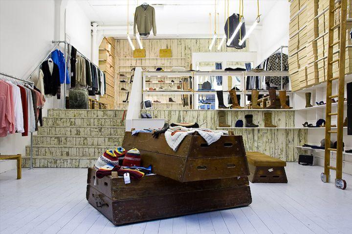 Folk clothing store by IY A Studio London