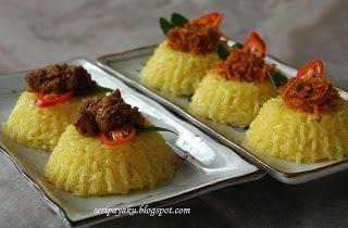 My Kuali Pulut Kuning Berkat Makanan Dan Minuman Makanan Minuman Resep Masakan