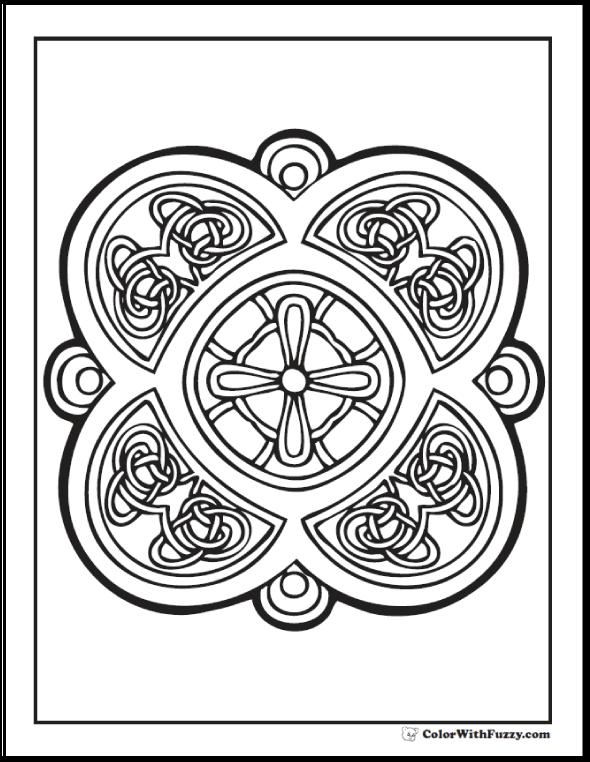90 Celtic Coloring Pages ✨ Irish, Scottish, Gaelic | Adult ...