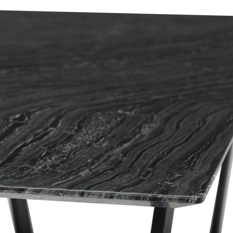 Catrine In 2019 Dining Room Black Marble Desk