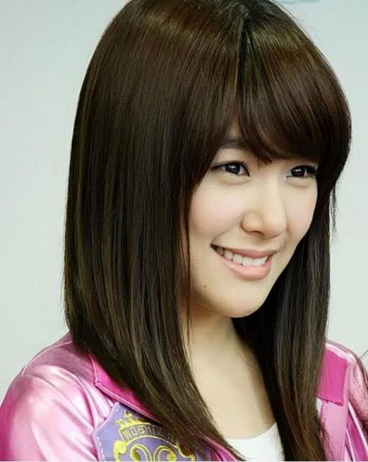 Medium Hairstyles Asian Korean Shoulder Length Hairstyles Best - #asian #hairstyles #korean # ...