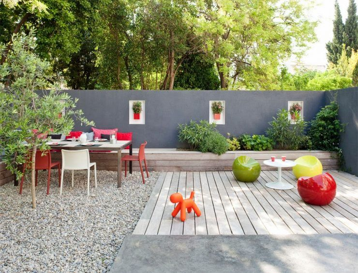 comment donner du cachet son coin ext rieur houses and design pinterest. Black Bedroom Furniture Sets. Home Design Ideas