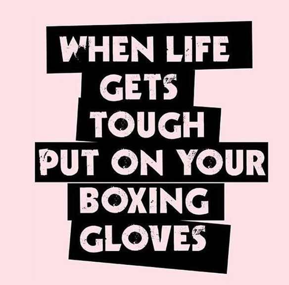 We Love Cardio Kickboxing Here At Wee Monster Www Weemonster Net Weemonster Toddlers Clothing Kidswear Ki When Life Gets Tough Boxing Quotes Kickboxing