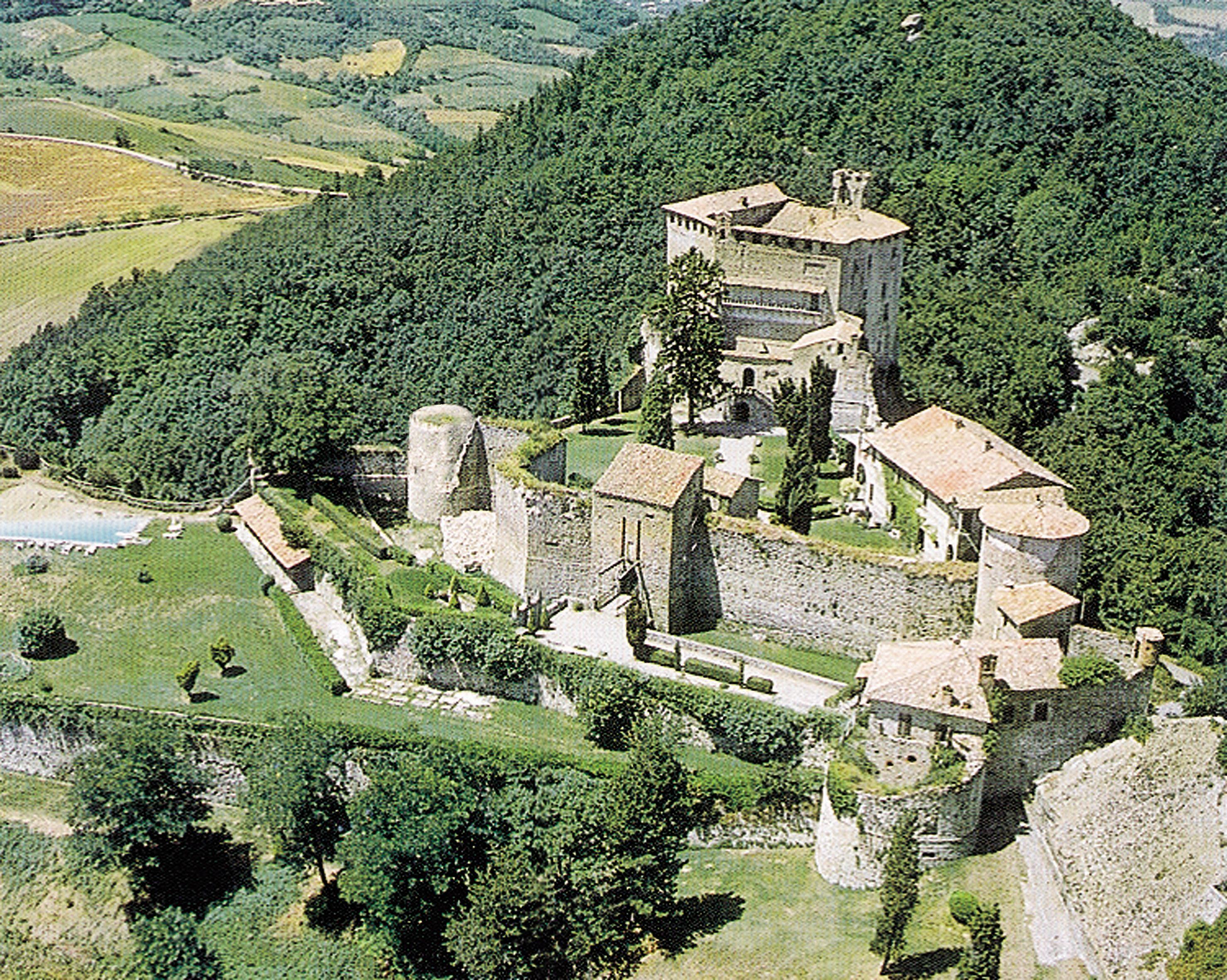 Rocca D Olgisio Castelli Del Ducato Di Parma E Piacenza Castelli Luoghi Paesaggi