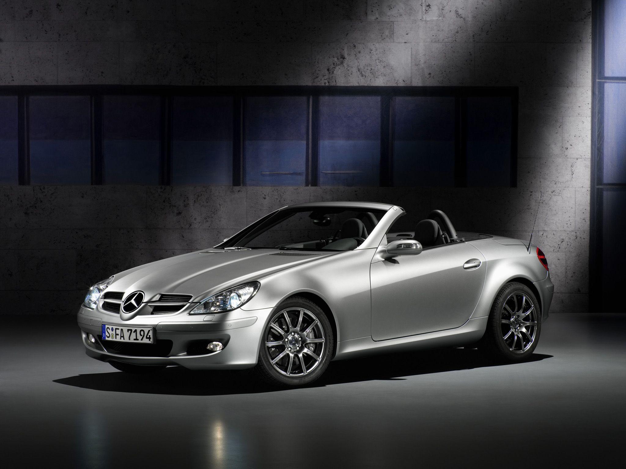 2007 Mercedes Benz Slk Edition 10 Mercedes Slk200 Edition 10
