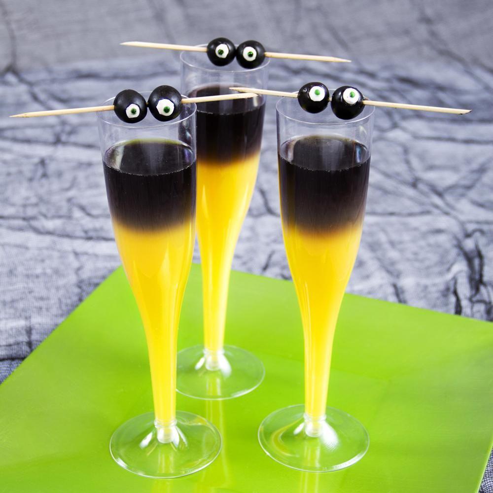 goblin mimosas 5-6 oz Orange Juice 1 shot Black Vodka
