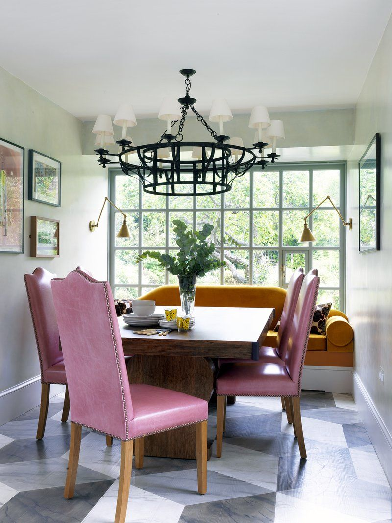 eclectic dining room in london, gbbeata heuman ltd | color