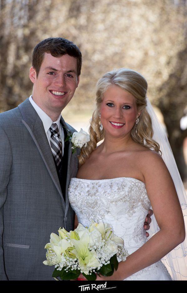 Aaron And Laura On Their Wedding Day In Jonesboro Tim Rand Photography