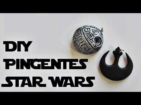 DIY: Como Fazer Pingentes inspirados em STAR WARS - YouTube