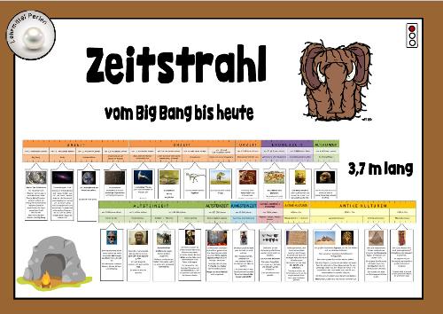 Legematerial: vom Urknall bis heute | Pinterest | Zeitstrahl ...