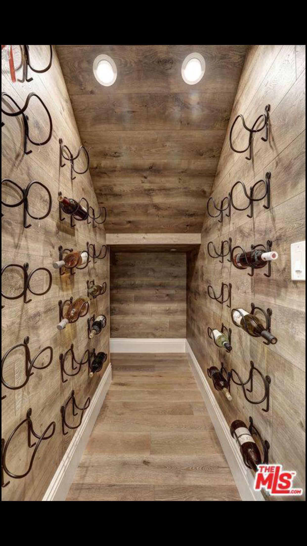 Wine Cellar Under Stairs