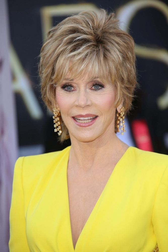 How Do You Get Jane Fonda Hair Cut Awards Celebs With Jane Fonda