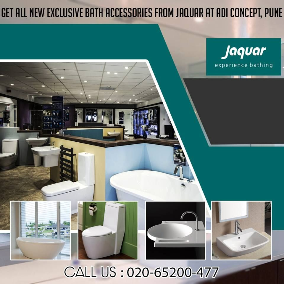Jaquar bathroom fittings pune - Get All New Exclusive Bathaccessories From Jaquar Only At Adi Concept Pune