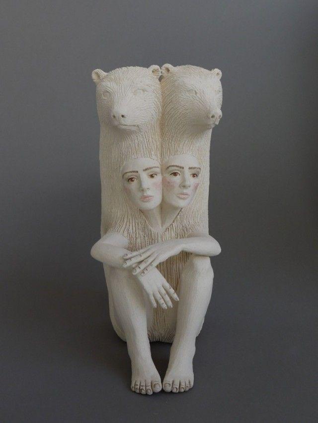 Crystal Morey Ceramic Sculptures Sculpture Pottery Art Art Dolls