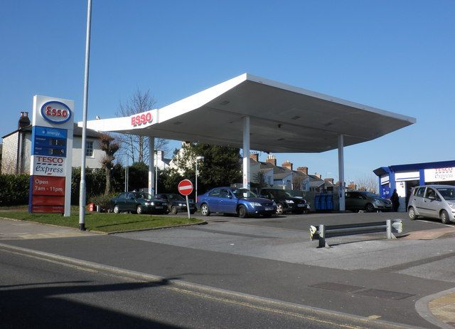 Esso petrol station. this one is slightly different that the other Esso stations due & Esso petrol station. this one is slightly different that the other ...