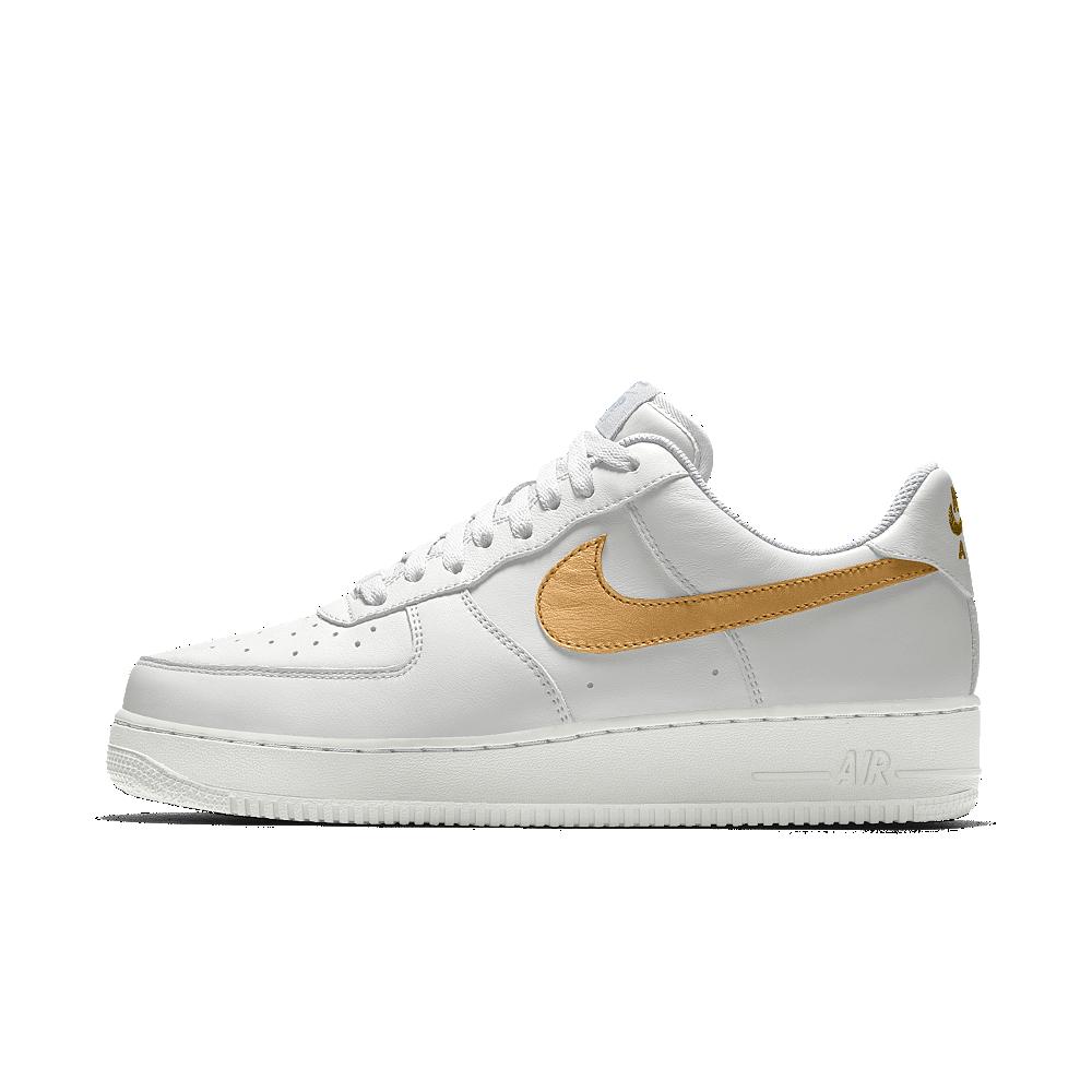 This Nike Air Force 1 Low - white + gum bottom  59dbd510a86
