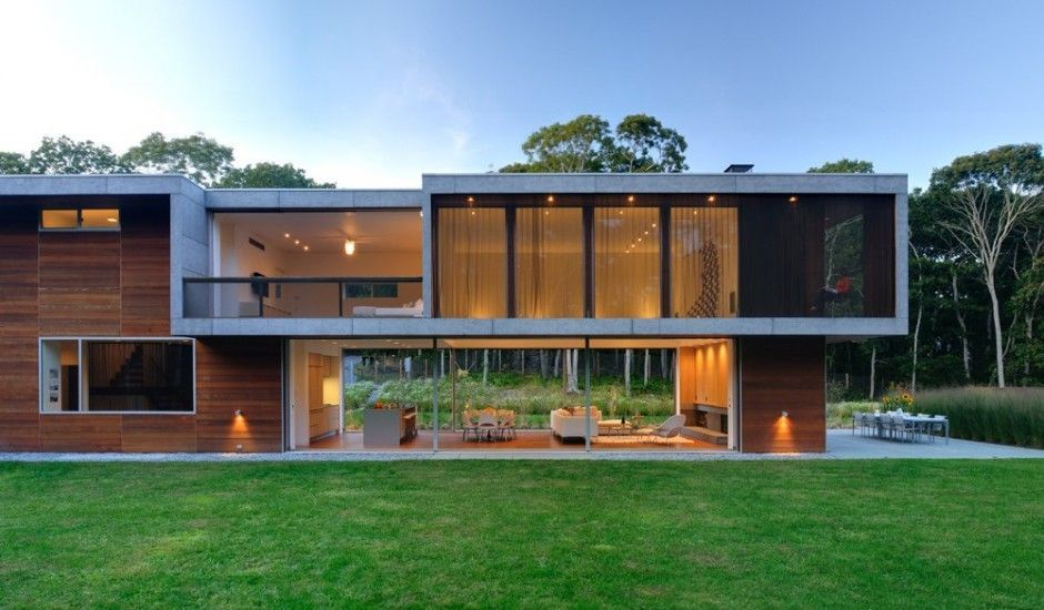 Arquitectura - Arquidea Casa minimalista Pryor por Bates Masi - casas minimalistas