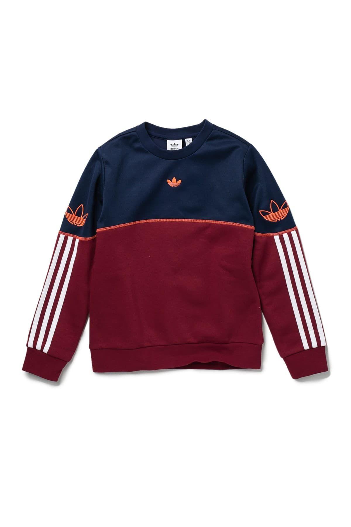 Adidas Originals Outline Crew Neck Pullover Nordstrom Rack In 2021 Sweatshirt Designs Crew Neck Sweatshirt Sweatshirts [ 1800 x 1200 Pixel ]