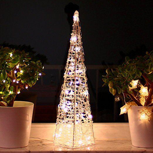 Weihnachtsbeleuchtung Fenster Pyramide.Weihnachtspyramide 60cm Led Pyramide Warmweiß Leuchtpyramide