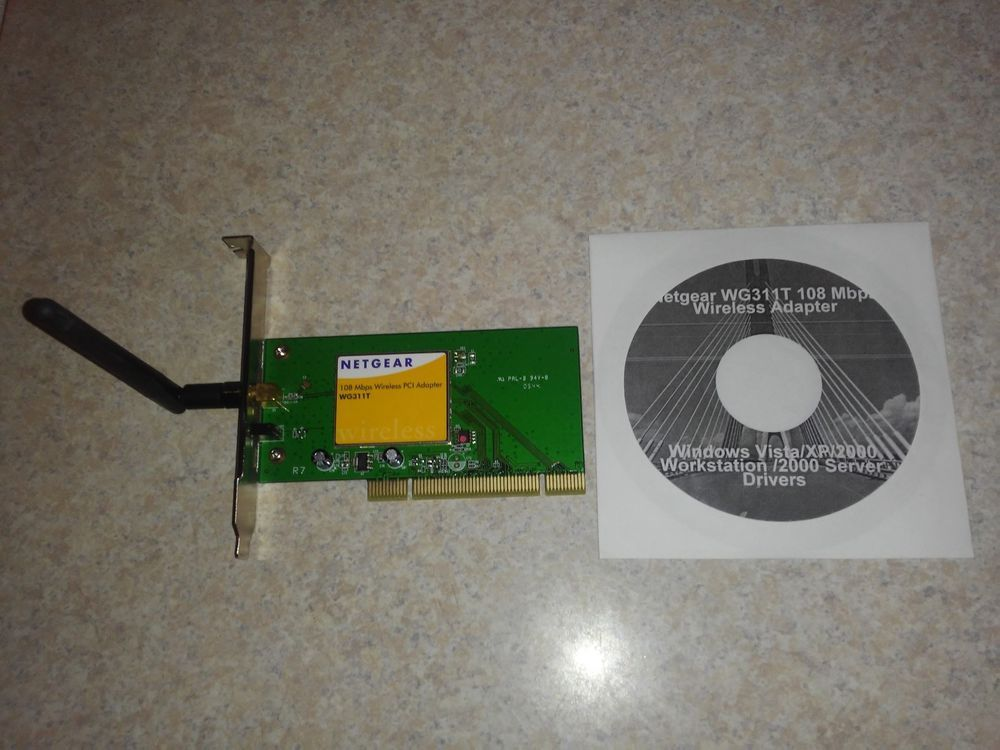 108MBPS WIRELESS PCI ADAPTER WG311T TREIBER WINDOWS 7