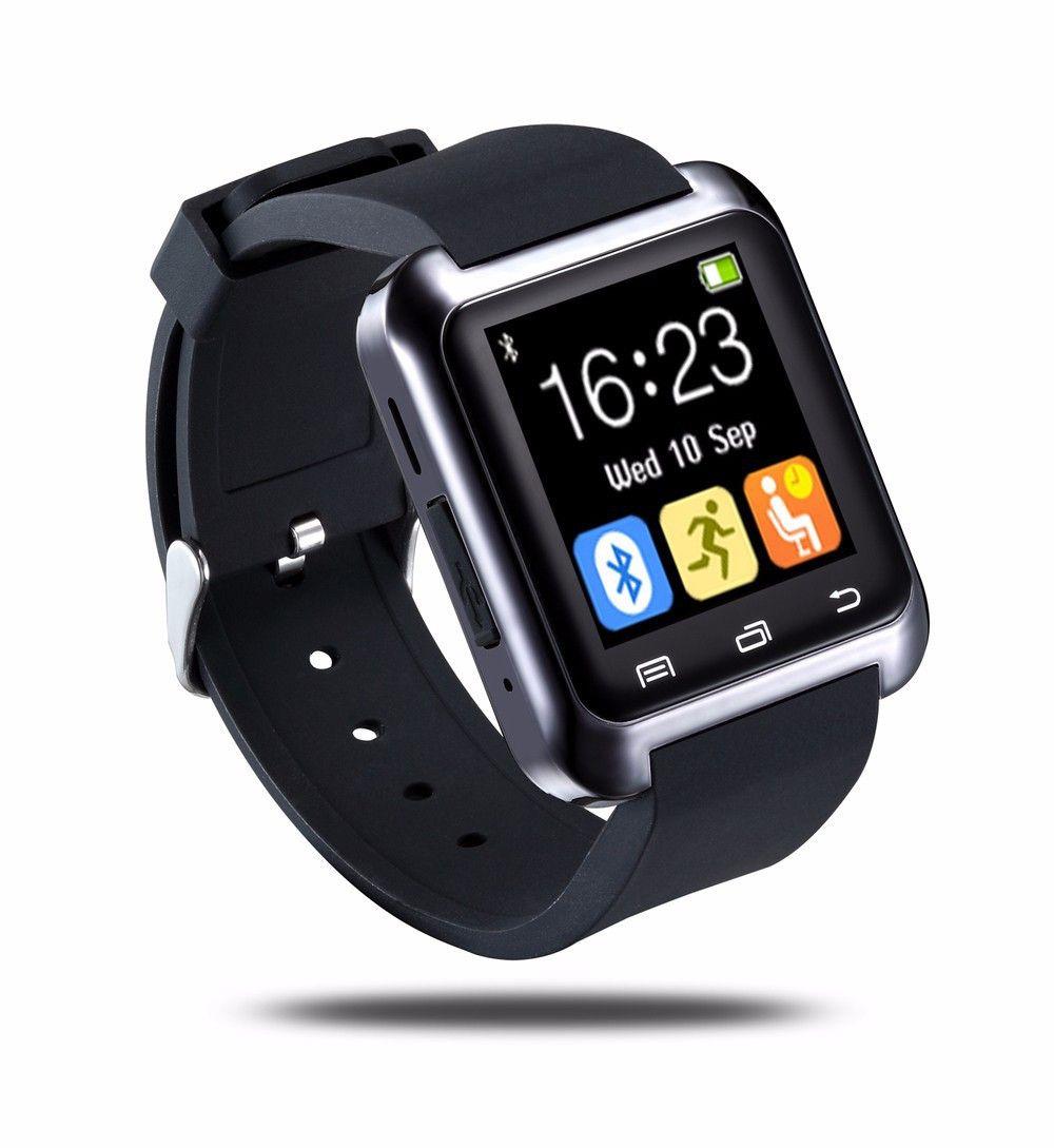 Bluetooth Smart U80 Watch Bt Notification Anti Lost Mtk Wristwatch For Iphone 4 4s 5 5s Samsung S4 Note 2 Note Smart Watch Android Bluetooth Watch Smart Watch