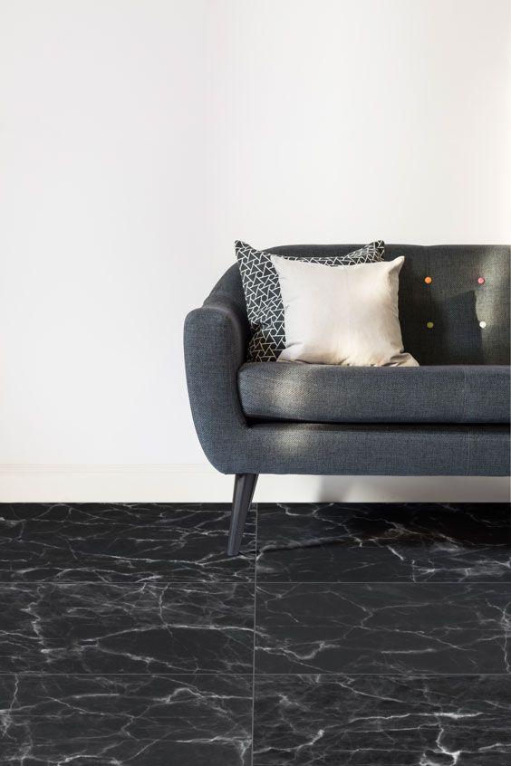 Black Marble Tile Vinyl Flooring Black Marble Tile Marble Vinyl Vinyl Flooring