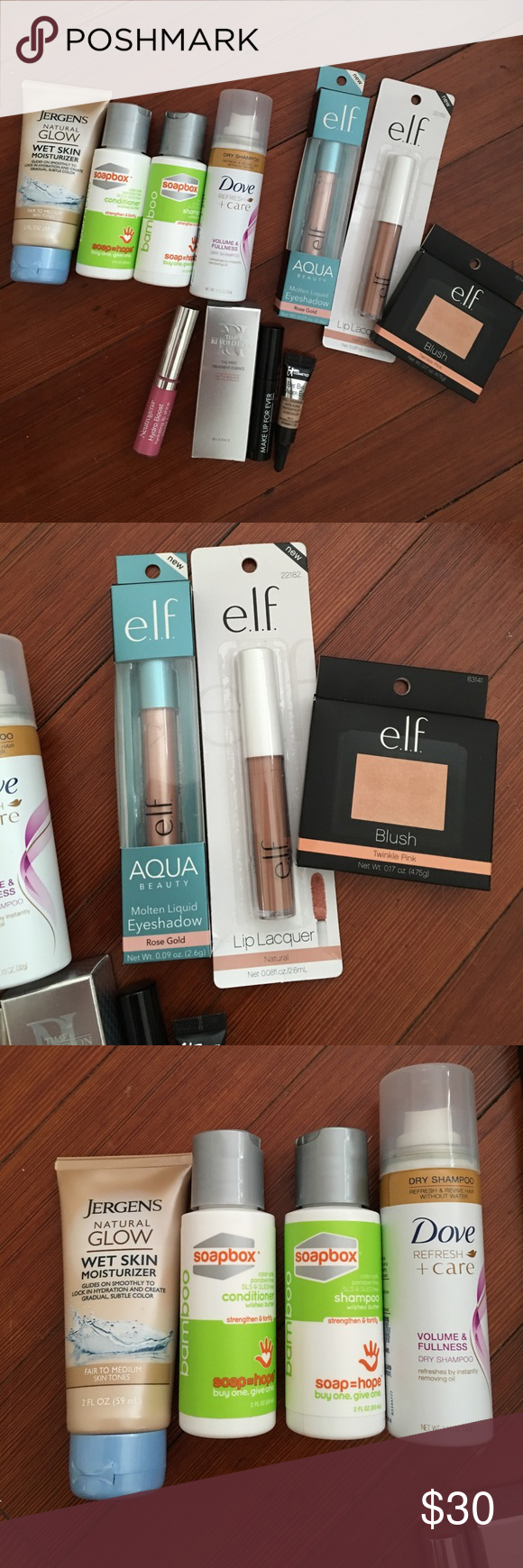 BEAUTY ITEMS NEW,UNUSED TRIAL&FULL SIZED I have a large