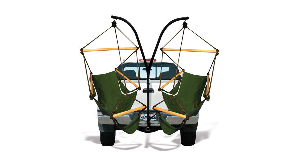 Bon Trailer Hitch Stand And Hammock Chair Combo   Http://DesireThis.com/1266    The Hammaka Trailer Hitch Stand And Hammaka Chair Combo Comes Ready To  Mount On ...