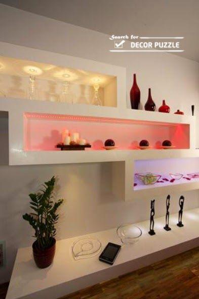 POP design photo catalogue 2015 for living room POP wall designs ...