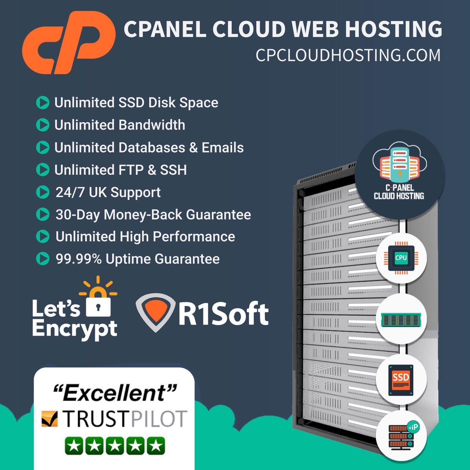199 Gbp Website Web Hosting 1 Year Free Ssl Certificate Ebay