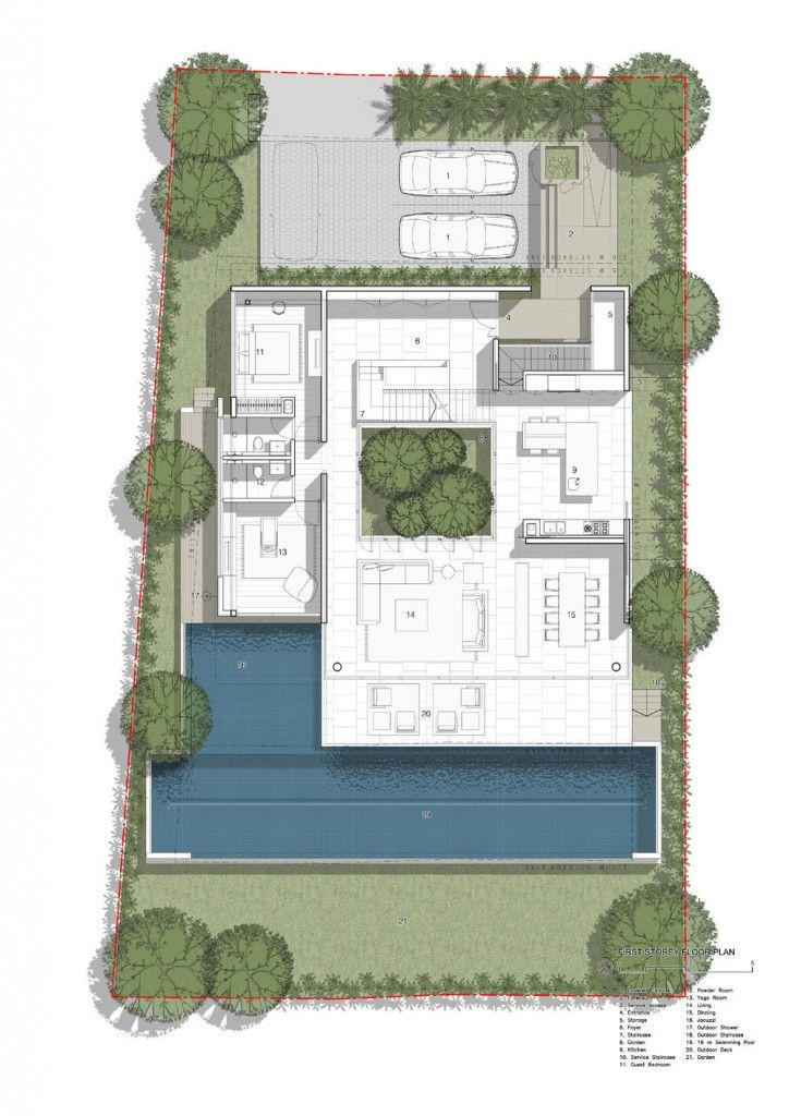 72 Sentosa Cove House By Ong Ong Villa Plan Floor Plans House Layouts