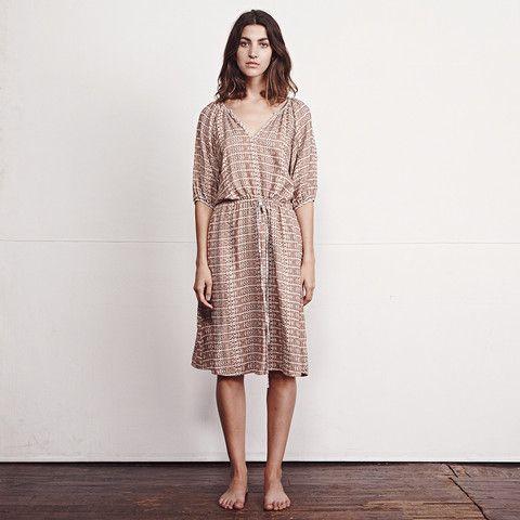 ACE & JIG MEADOW DRESS - RAFFIA