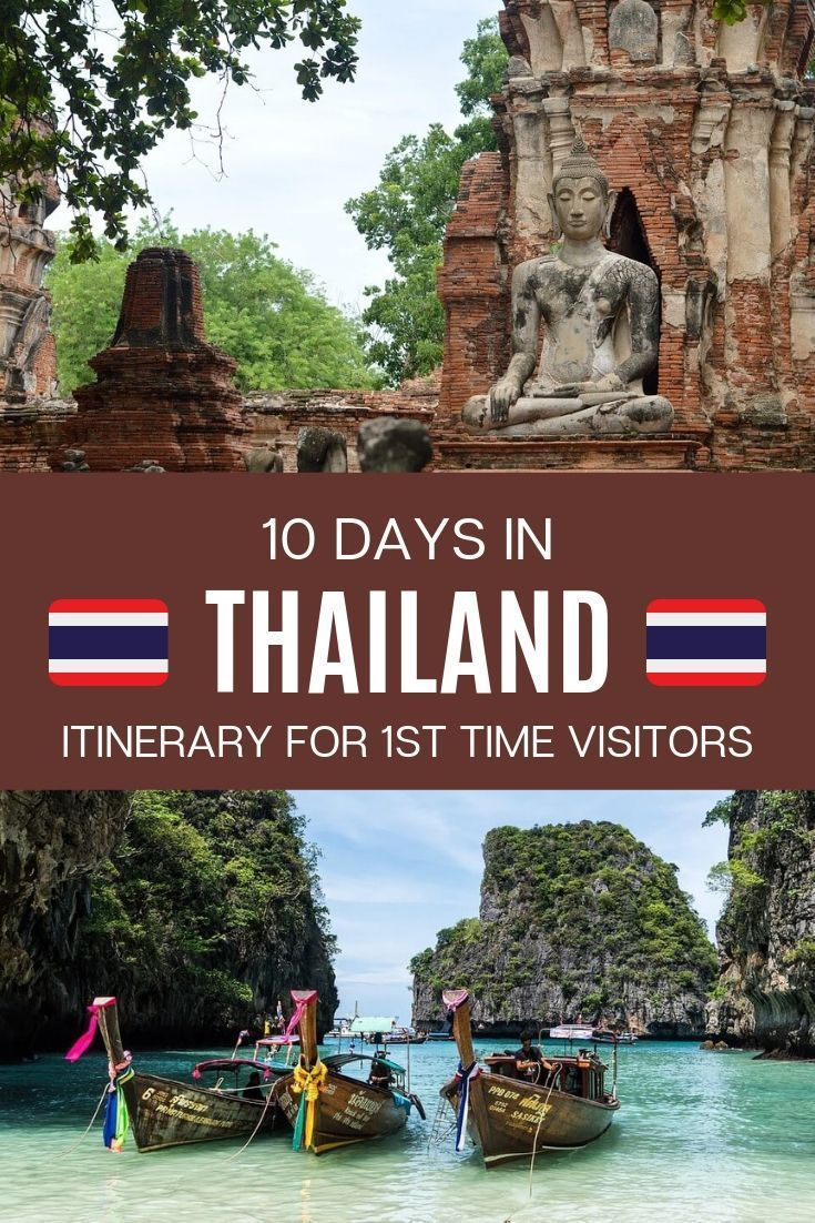 10 Days Thailand Itinerary: A Complete Guide For First Time Visitors -   19 travel destinations Thailand country ideas