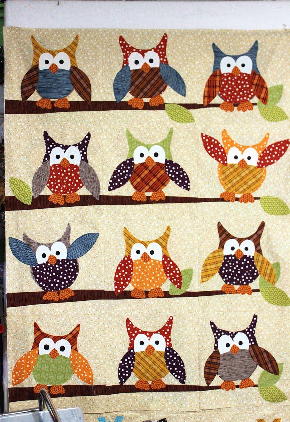 free owl quilt block pattern - Google Search | Sewing | Pinterest ... : owl pattern quilt - Adamdwight.com