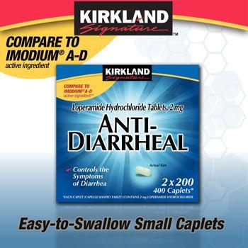Kirkland Signature™ Anti-Diarrheal 2mg., 400 Caplets ... on Kirkland Costco Pharmacy id=23157