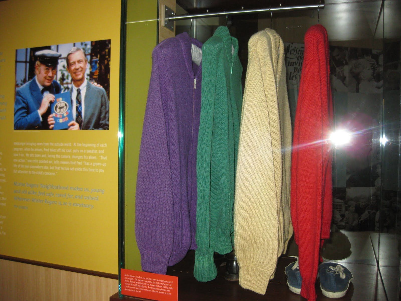 Memorabilia At Fred Rogers Center St Vincent S College Monastery Rd Pa 15650 Fred Rogers Mr Rogers Beautiful Day