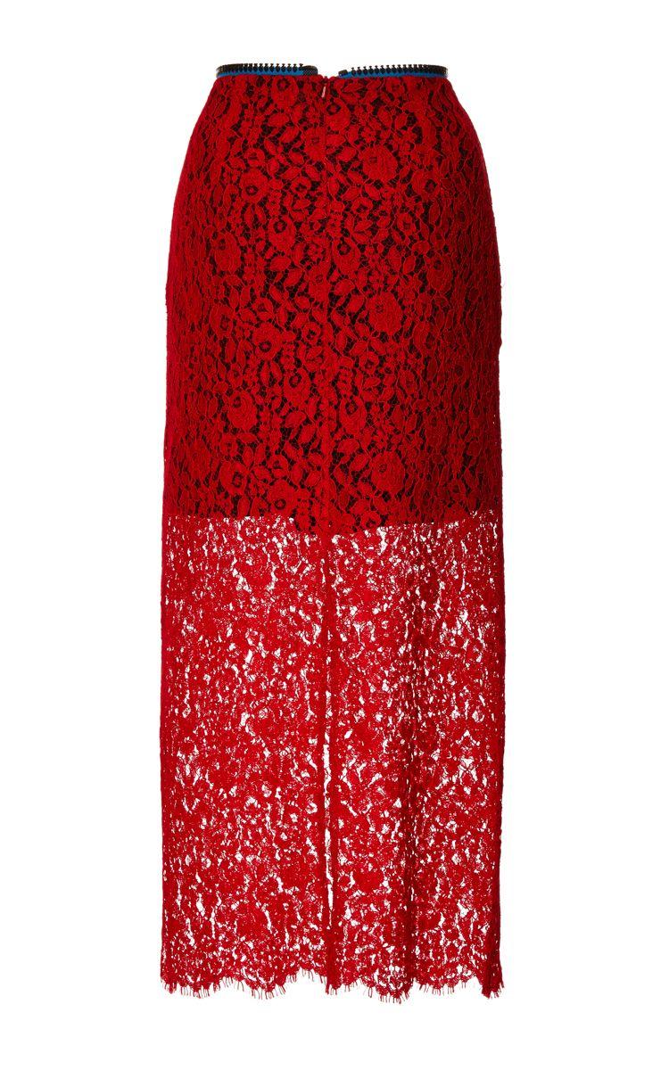 Chelsea Skirt by Preen by Thornton Bregazzi for Preorder on Moda Operandi