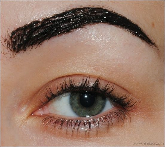 At Home Eyebrow Tinting With Eylure Dybrow In Dark Brown. | Misc ...
