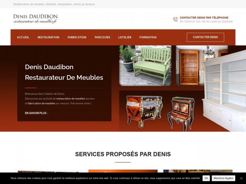 Denis Daudibon Ebenisterie Sur La Commune De La Fresnais Departement De L Ille Et Vilaine En 2020 Restaurer Meuble Mobilier De Salon Mobilier D Art