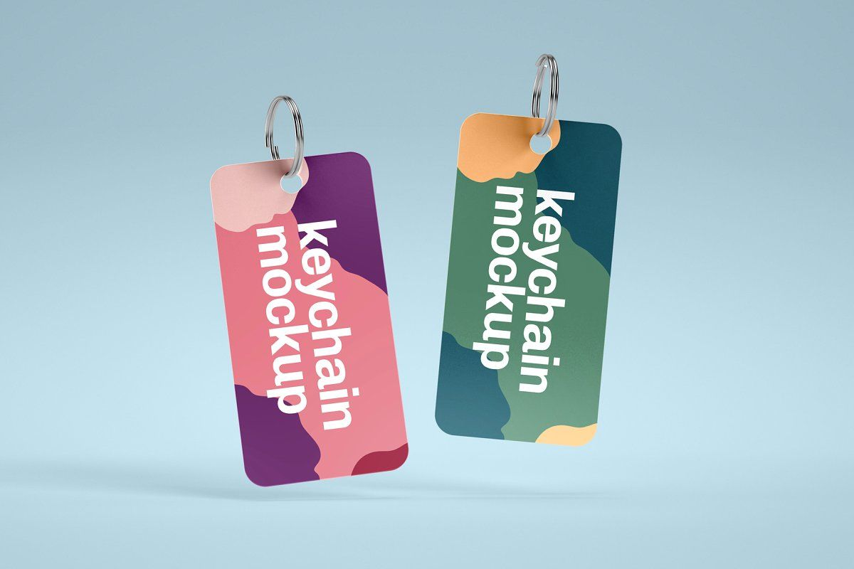 Download Keychain Mockup Yellowimages