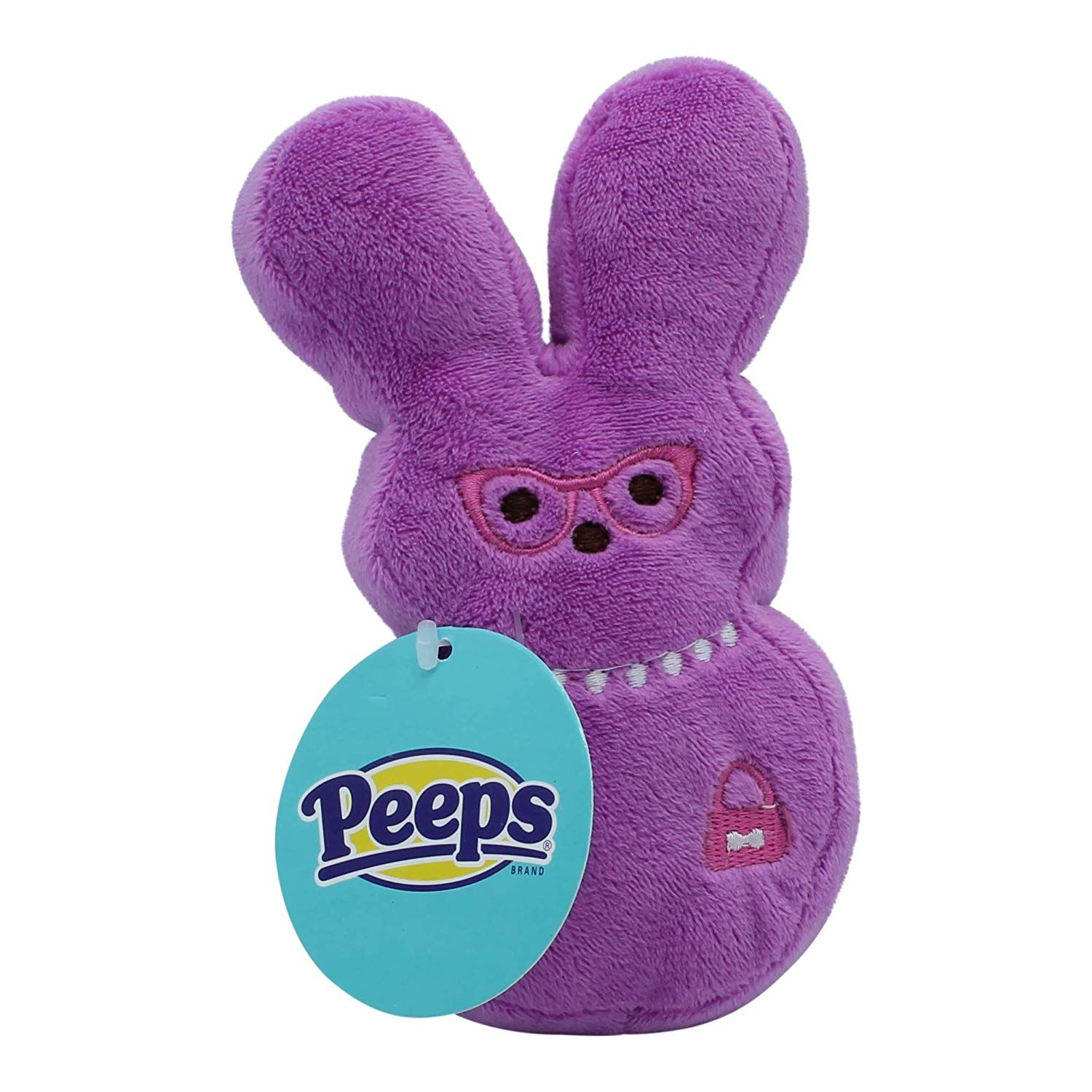 Peeps plush bunny toys for dogs and puppies medium and