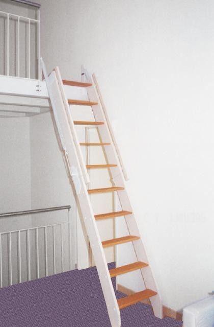 Klappbare Treppe zu einer Galerie Die optimale Lsung