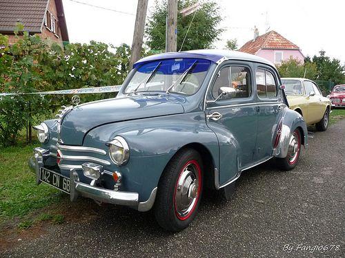 Renault 4cv Antique Cars Renault 4 Classic Cars Vintage