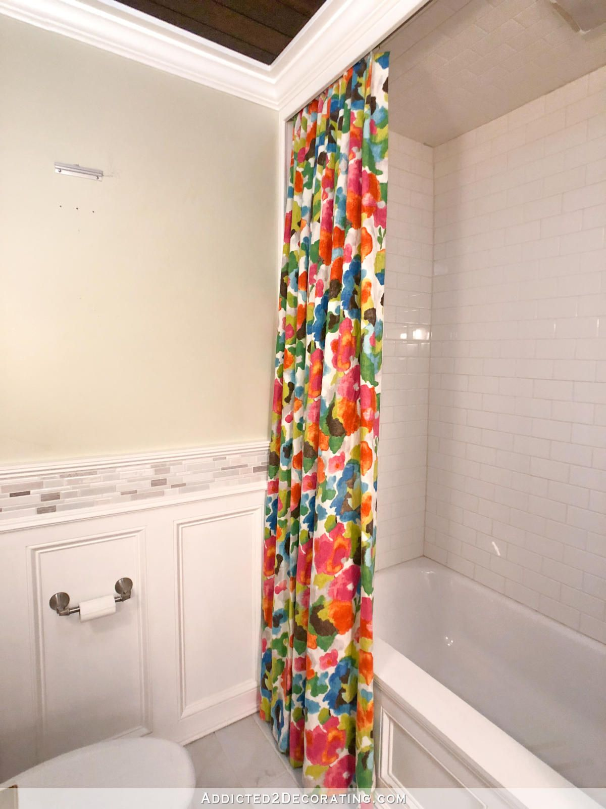 Diy Colorful Shower Curtains Colorful Shower Curtain Green