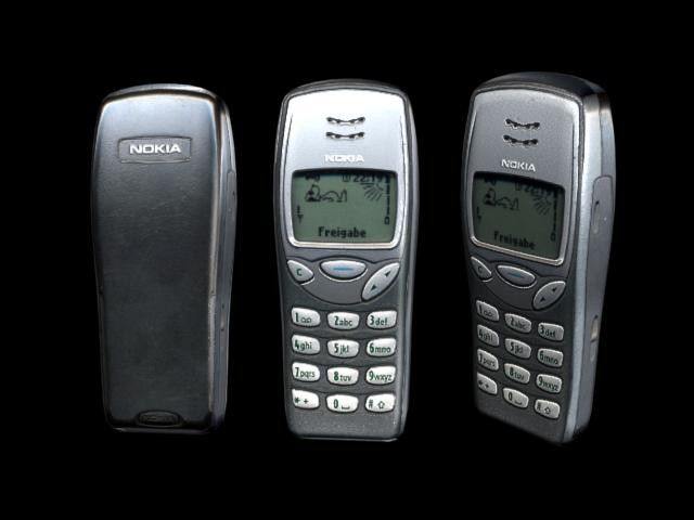 nokia 4210. 3Ds Nokia 3210 Cell Phone - 3D Model 4210