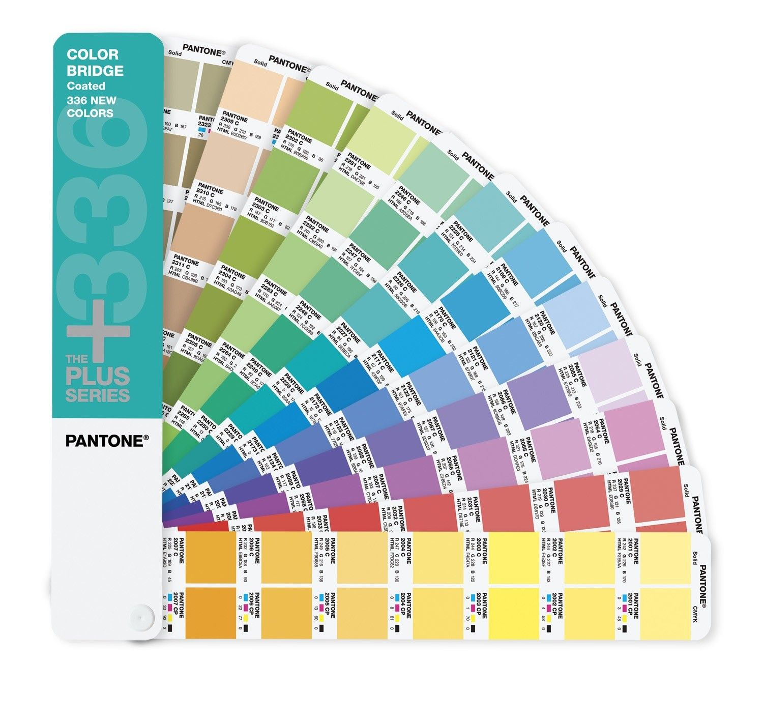 Pantone Plus Series Color Bridge Guide Coated Supplement Only 336 New Colors Pantone Products Browse By Pantone Color Bridge Pantone Photoshop Cs5