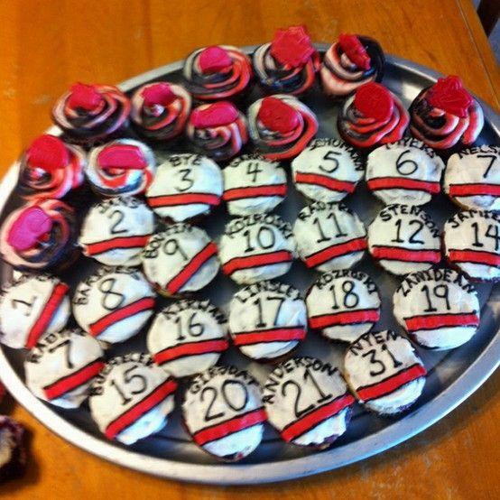 Cupcake Decorating Ideas Hockey : Best 25+ Hockey cupcakes ideas on Pinterest Hockey ...