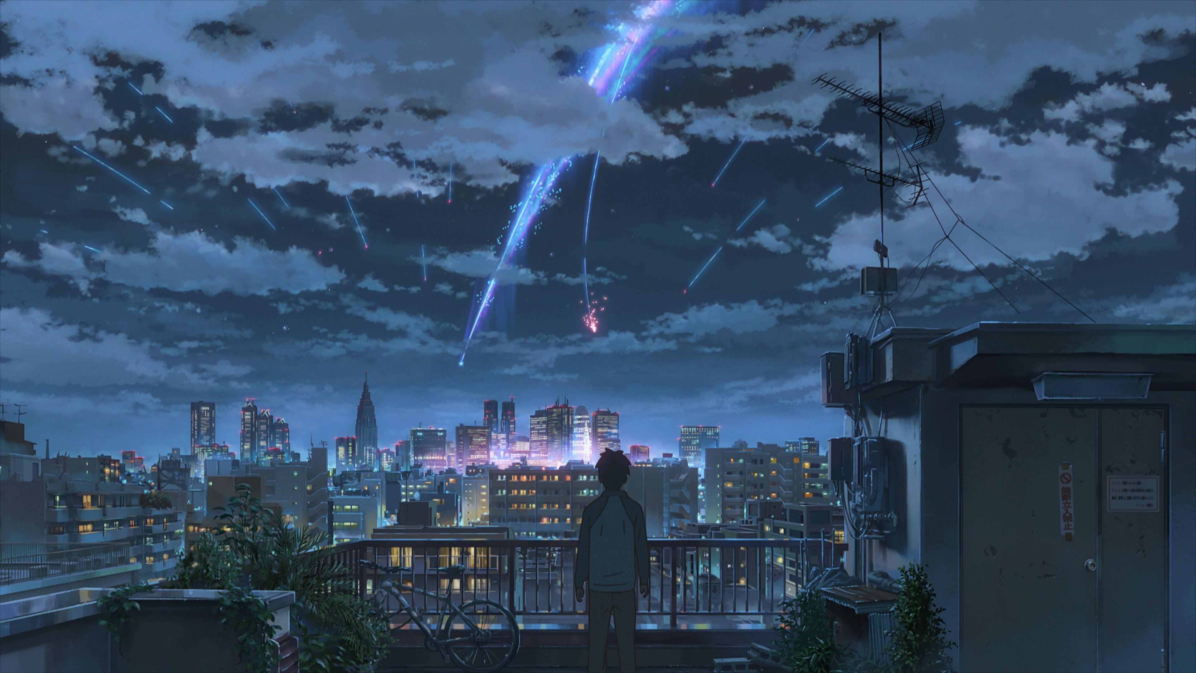 Your Name 4k Wallpaper Galore Kimi No Na Wa Wallpaper Your Name Anime Anime Scenery
