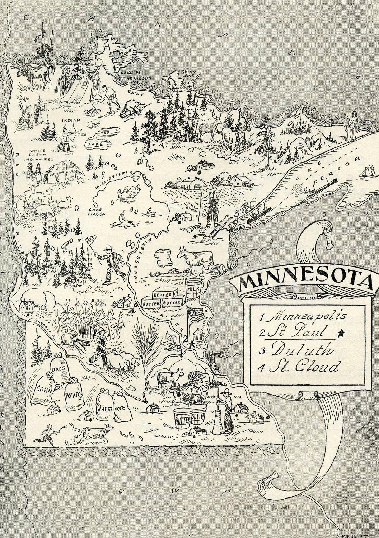 Goody Palmer   Minnesota | maps | Minnesota home, Minnesota